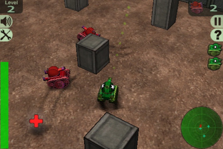 Crazy Tanks Lite screenshot-0