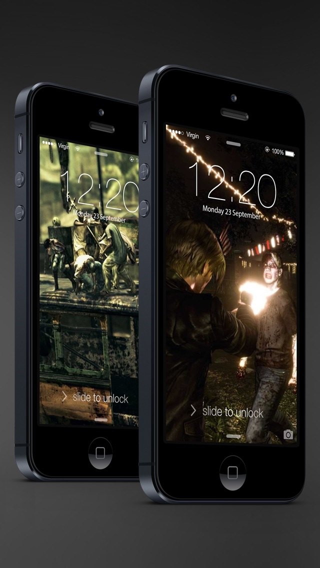 download HD Resident Evil version wallpapers - Ratina Background & Lock Screen for all iOS Device apps 2
