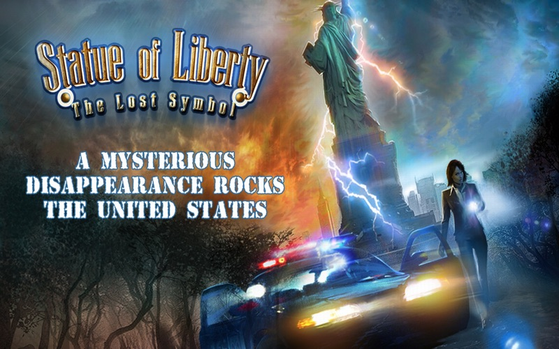 Statue of Liberty the Lost Symbol - A hidden object Adventure (FULL) screenshot 1