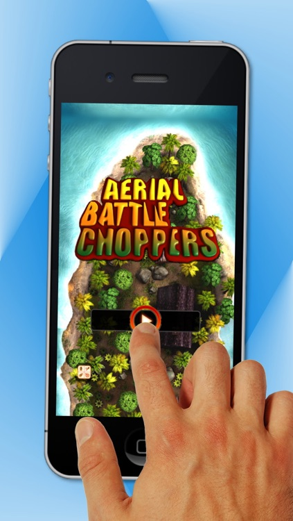 Aerial Battle Choppers - Free Helicopter War Game screenshot-4