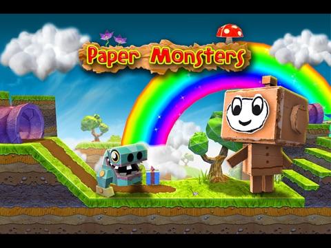 Paper Monsters на iPad