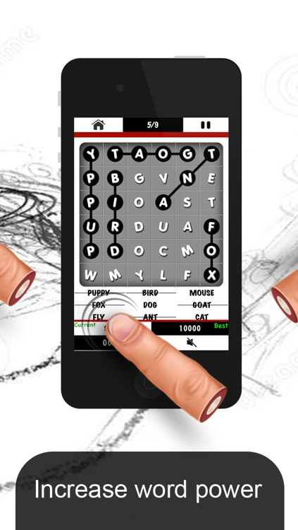Word Search - Piano Tile Style Puzzle screenshot-3