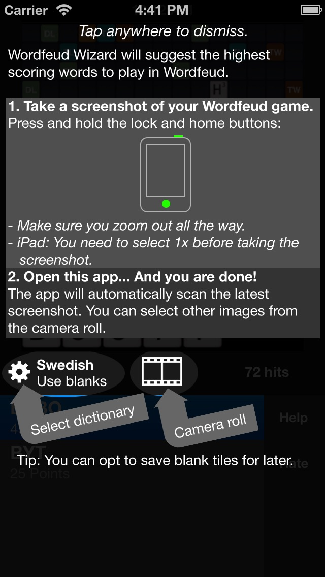 Screenshot for Wizard for Wordfeud in Sweden App Store