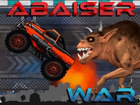 Abaiser Monster Trucks Vs Zombies: Words War Racing Game-ipad-1