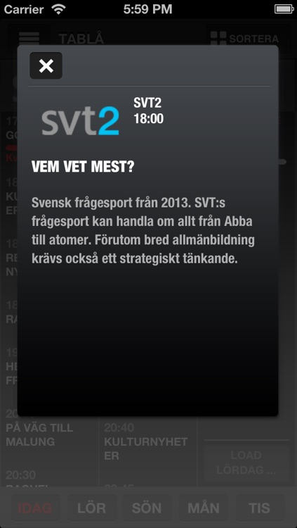 TV-GUIDEN Free