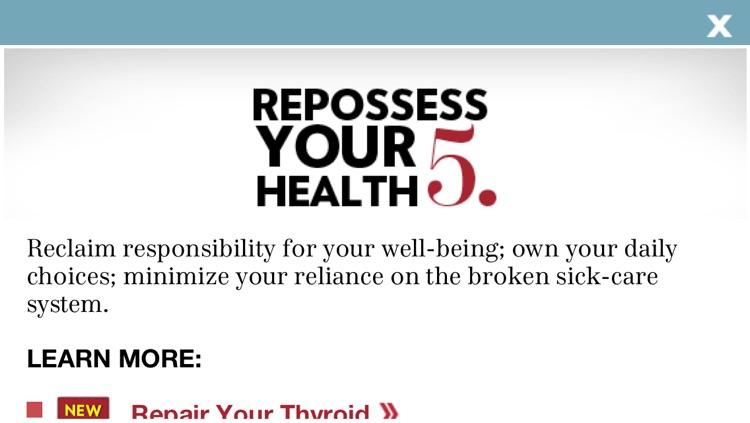 """101 Revolutionary Ways to Be Healthy"" from Experience Life magazine and RevolutionaryAct.com screenshot-3"