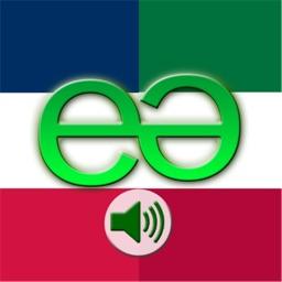 French to Italian Voice Talking Translator Phrasebook EchoMobi Travel Speak LITE