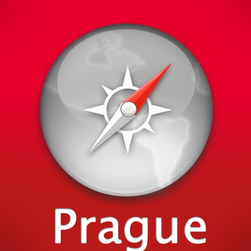 Prague Travel Map icon