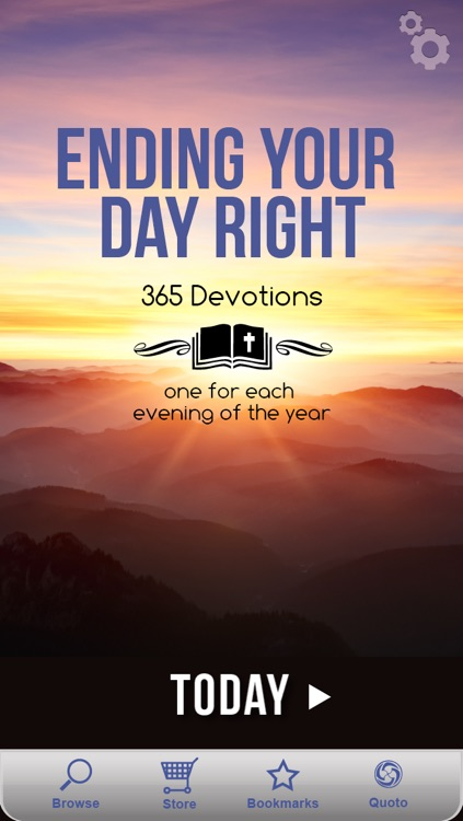 Ending Your Day Right Devotional