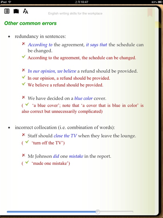 English writing skills for the workplace screenshot-3