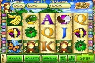 Monkey Money Slots review screenshots