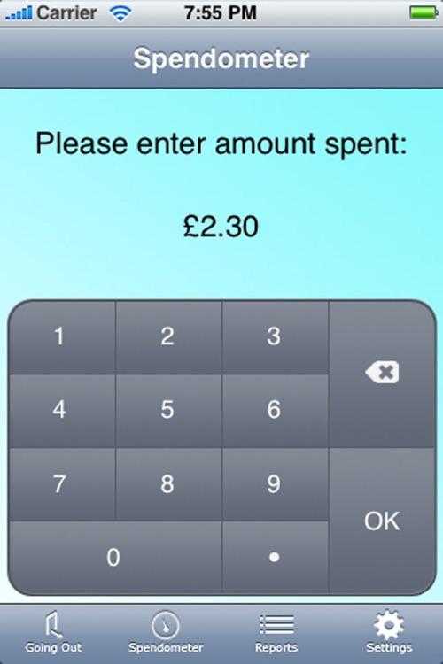 Spendometer screenshot-1