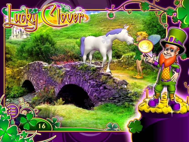 Lucky Clover: Pot O' Gold HD screenshot-4