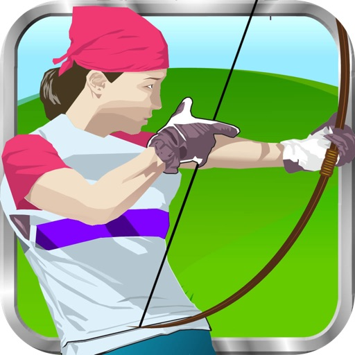 Bow of shooting sport - Load the arrow and shoot him the object to have the doll head. Show your skills and become the best archer in of the sport