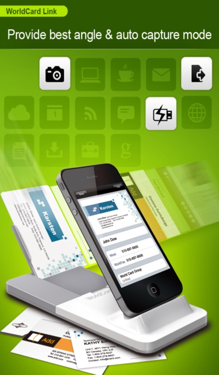 WorldCard Link - Instant Business Card Reader