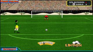 Brazil Cup Flick Football Striker : Penalty Shoot Out screenshot two