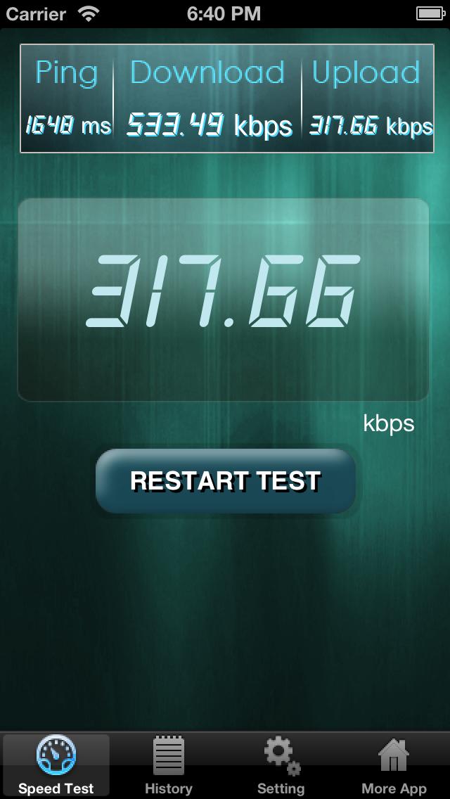 Net Speed Test Lite Скриншоты3
