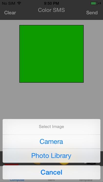رسائل الملونة screenshot-3