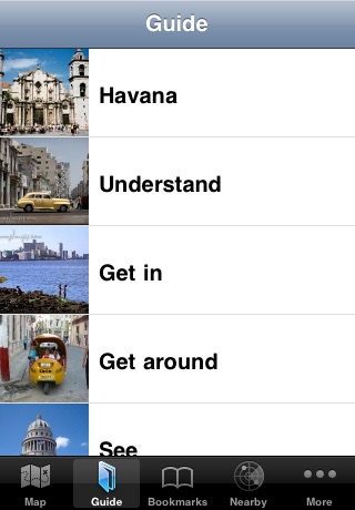 Havana Offline Map & Guide