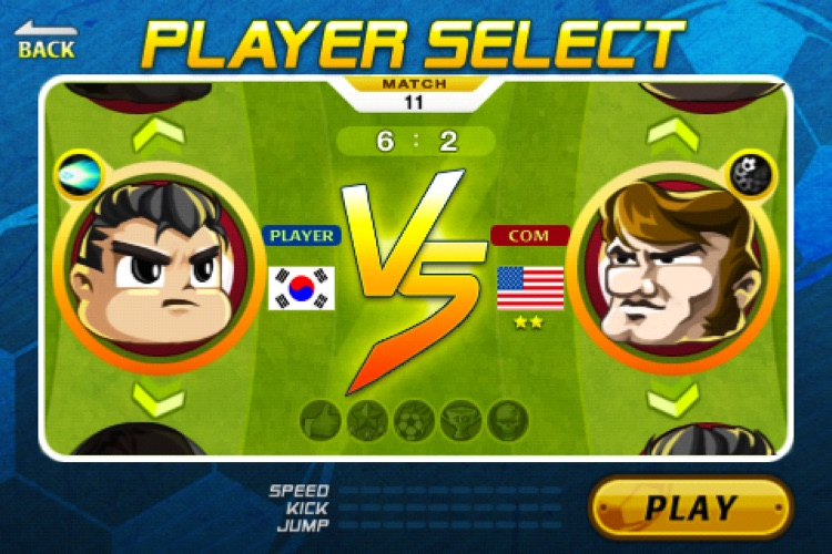 Head Soccer Lite screenshot-2