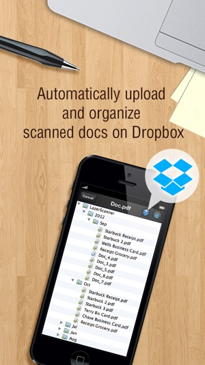 Lazerscanner scan multiple doc to pdf and auto upload to dropbox lazerscanner scan multiple doc to pdf and auto upload to dropbox free on the app store reheart Images