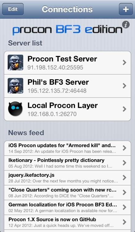 Procon BF3 Edition
