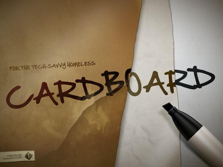 Cardboard: The Original Hobo Sign™