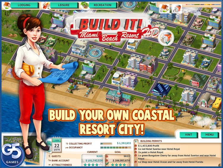Build It! Miami Beach Resort HD (Full)
