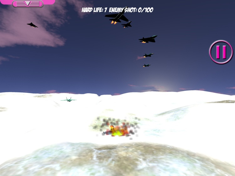 Aircraft 1 Lite for iPad: air fighting game screenshot-3