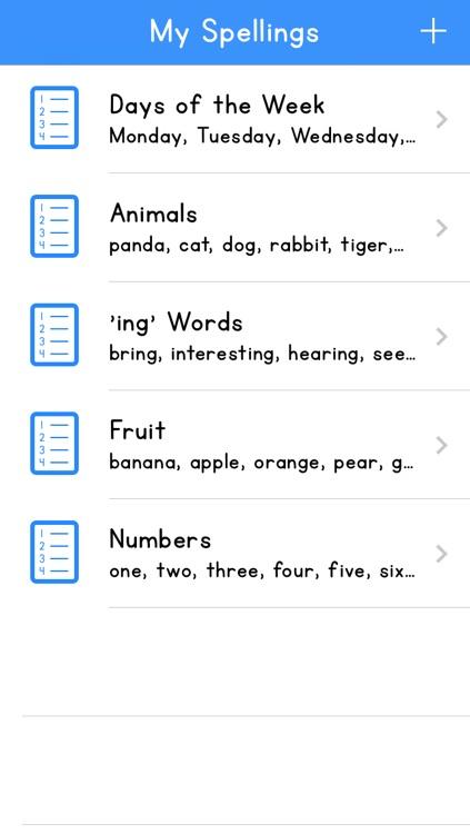 My Spellings 2