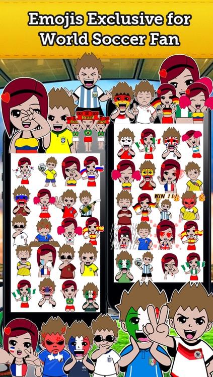 Emoji World Soccer Fan Free