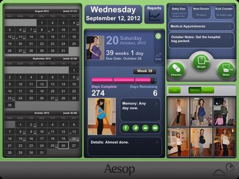 Resultado de imagen para pregnancy aesop app