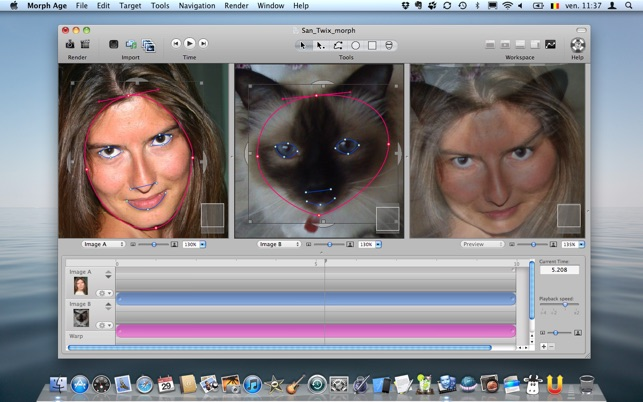 Image Morphing Software