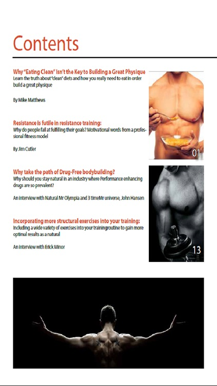 Natural Power and Muscle Magazine screenshot-2