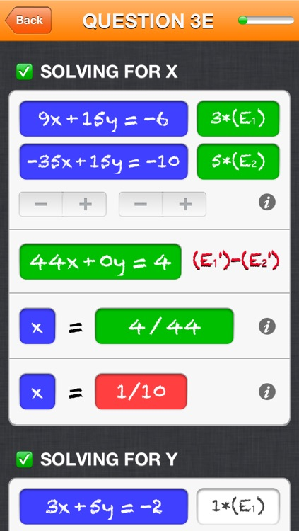 Solving a system of 2 equations in 2 unknowns screenshot-3