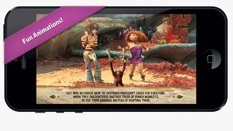 The Croods Movie Storybook Deluxe screenshot-4