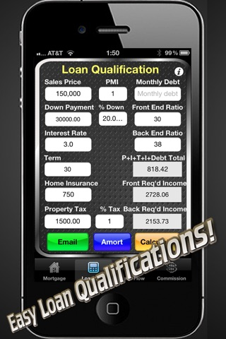 Real Estate Calc: Mortgage & Home Loan Qualification Calculator-2