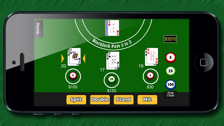 5 in-1 BlackJack (Free) screenshot-0