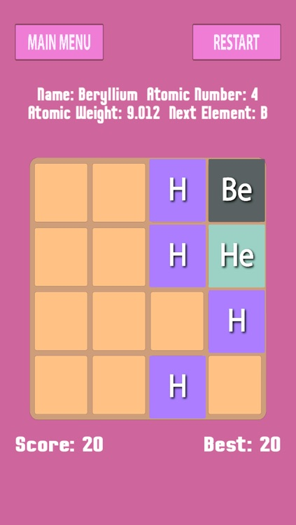 Periodic table in 2048 memorize elements by puzzle by encrypto periodic table in 2048 memorize elements by puzzle urtaz Gallery