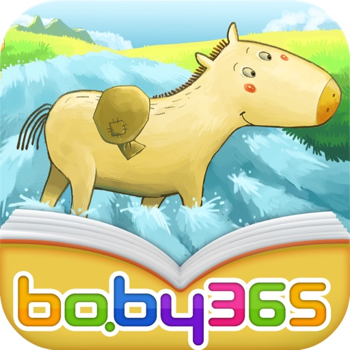 baby365-The Little Horse Crossed the River icon