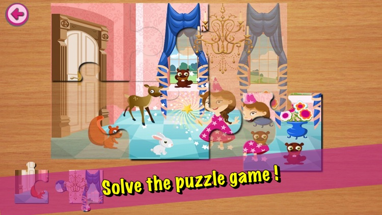 Abby the Good Witch and the evil wizard LITE screenshot-4
