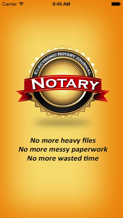 Electronic Notary Journal