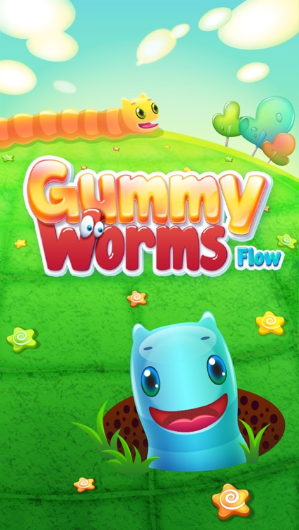 Gummy Worms Link Pro - Draw Sweet & Delicious Color Line screenshot-4