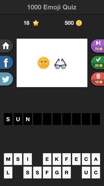1000 Emoji Quiz