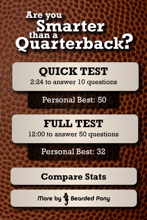 Quarterback Quiz | Are you Smarter? screenshot-3