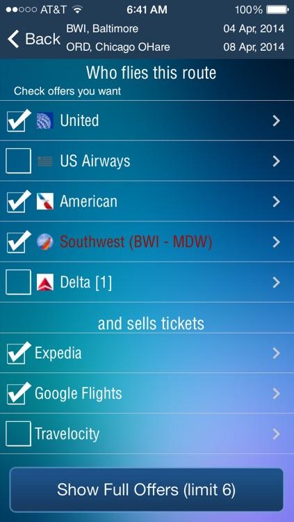 Baltimore Washington Airport BWI - Flight Tracker screenshot-3