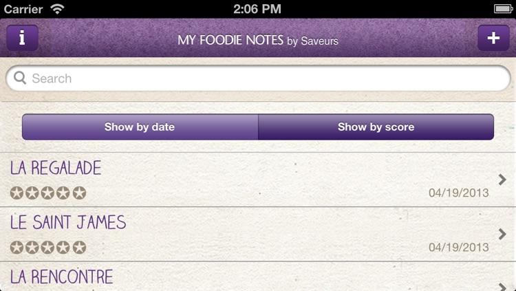 My Foodie Notes screenshot-4