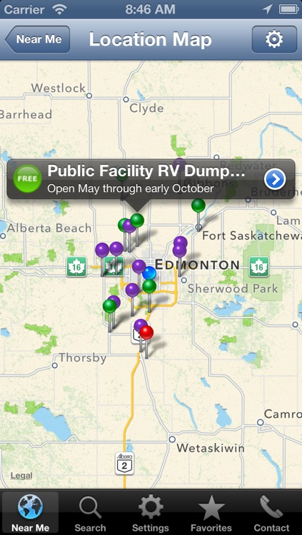Sanidumps+ RV Dump Station Locator