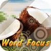 Word Focus - Guess What's the word words phrase and phrases & Ask the words with friends close up pics puzzle.
