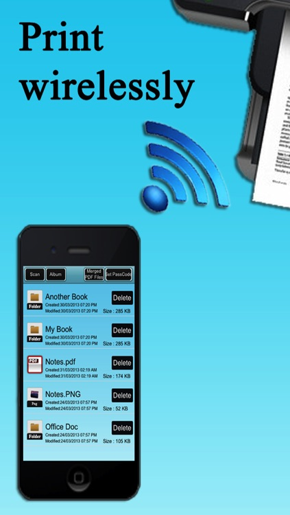 Signature Pro - Scan , Sign , Email , Print Document for iPhone and iPad screenshot-4